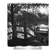 Dock On The Bayou Shower Curtain