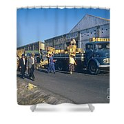 Dock Workers Shower Curtain