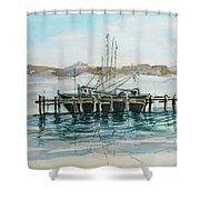 Docking Shower Curtain