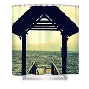 Dockside  Shower Curtain