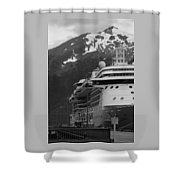 Dockside In Skagway Shower Curtain