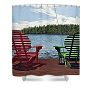 Dockside Shower Curtain