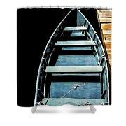 Dockside Skiff Shower Curtain