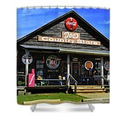 Doc's Country Store Shower Curtain