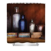 Doctor - Asthma Cures Shower Curtain