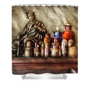 Doctor - Doctor Recommended  Shower Curtain by Mike Savad