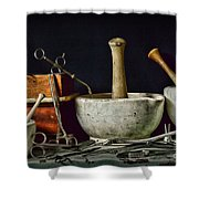 Doctor All Those Medical Instruments Shower Curtain