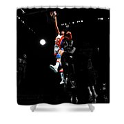 Doctor J Over The Top Shower Curtain