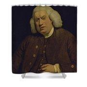Doctor Samuel Johnson Shower Curtain