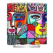Dod Art 123ito Shower Curtain