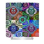 Dod Art 123jook Shower Curtain