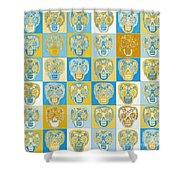 Dod Art 123ll Shower Curtain