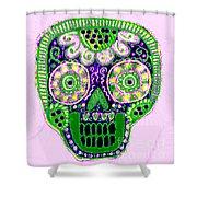 Dod Art 123pin Shower Curtain