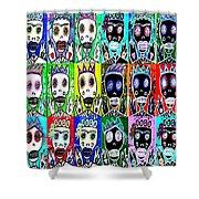 Dod Art 123uytt Shower Curtain