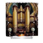 Dodd Pipe Organ Kent Town Adelaide Shower Curtain