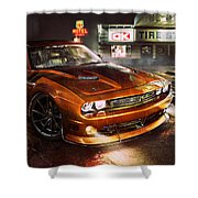 Dodge Challenger R T Shower Curtain