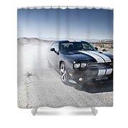 Dodge Challenger Srt8 Shower Curtain