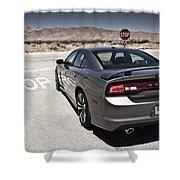Dodge Charger Srt8 Shower Curtain
