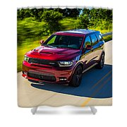Dodge Durango Srt 2018 Shower Curtain