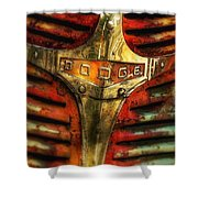 Dodge Grill Shower Curtain