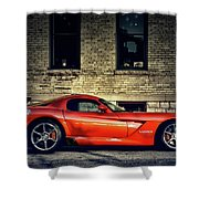 Dodge Viper Shower Curtain