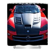 Dodge Viper Roadster Shower Curtain