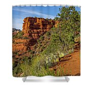 Doe Mountain Trail Shower Curtain