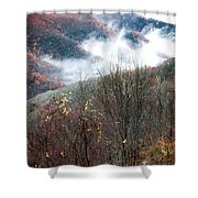 Doe On Autumn Ridge Shower Curtain
