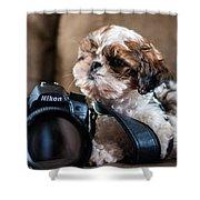 Dog 2 Shower Curtain
