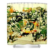 Dog 3549 Shower Curtain