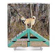 Dog 389 Shower Curtain