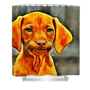 Dog Friend Shower Curtain