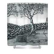 Dog House Shower Curtain
