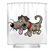 Doggy Shower Curtain