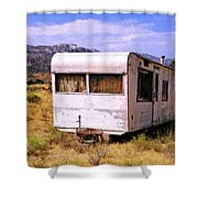 Dogpatch Trailer Shower Curtain