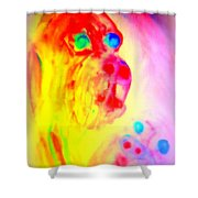 You May Feel Lonely But You Are Not Alone  Shower Curtain