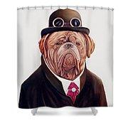 Dogue De Bordeaux Shower Curtain by Animal Crew