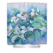 Dogwood Shower Curtain