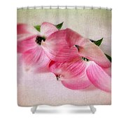 Dogwood Duet Shower Curtain