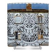 Doily House Shower Curtain