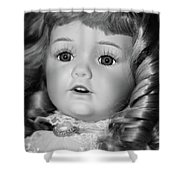 Doll 32 Shower Curtain