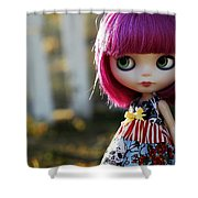 Doll Shower Curtain