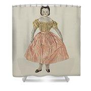 Doll Shower Curtain
