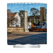 Dollar Town In Scotland Shower Curtain