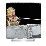 Dolly At The Pianao Shower Curtain