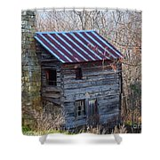 Dolly's Hearth - Pendleton County West Virginia Shower Curtain