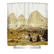 Dolomites, Italy Shower Curtain