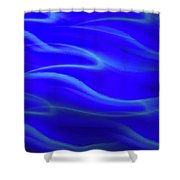 Dolphin Waves Shower Curtain