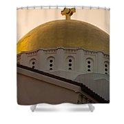 Dome And Cross At St Sophia Shower Curtain