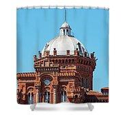Dome On Phanar Greek Orthodox College Shower Curtain